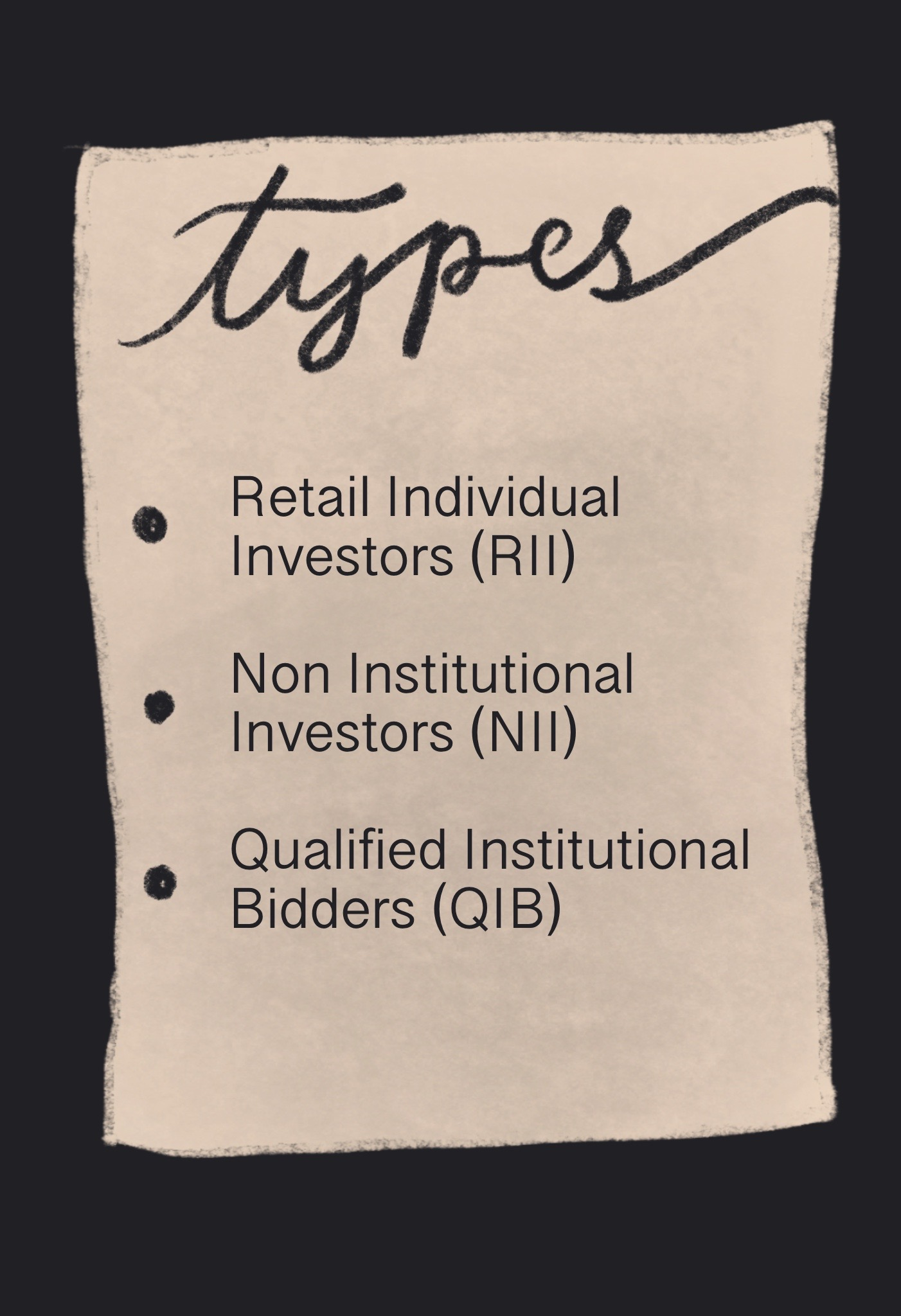Types of IPO Investments
